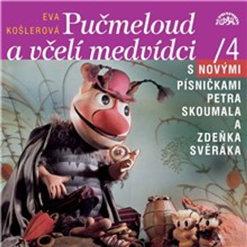 Audiokniha Včelí medvídci a Pučmeloud - Eva Košlerová - Josef Dvořák