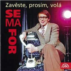 Audiokniha Zavěste, prosím, volá Semafor - Miloslav Šimek - Miroslav Horníček