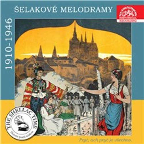 Audiokniha Historie psaná šelakem - Pryč, ach, pryč je všechno. Šelakové melodramy - Jaroslav Seifert - František Smolík