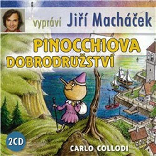 Audiokniha Pinocchiova dobrodružství - Carlo Collodi - Jiří Macháček