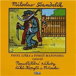 Neuvěřitelné příhody žáků Kopyta a Mňouka - Miloslav Švandrlík (Audiokniha)