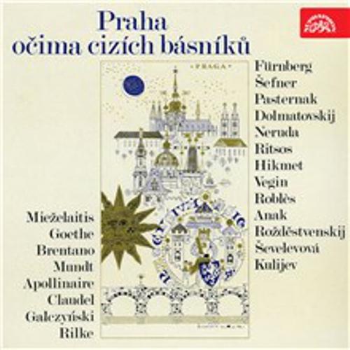 Praha očima cizích básníků -  Různí (Audiokniha)