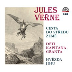 Cesta do středu Země, Děti kapitána Granta, Hvězda jihu - Jules Verne (Audiokniha)
