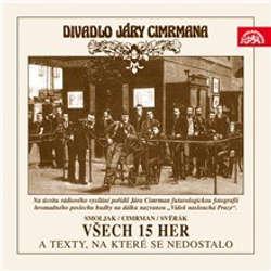 Audiokniha Divadlo Járy Cimrmana - Všech 15 her a texty, na které se nedostalo - Ladislav Smoljak - Zdeněk Svěrák