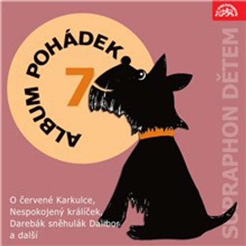 "Audiokniha Album pohádek ""Supraphon dětem"" 7. - Josef Svoboda - Ivanka Devátá"
