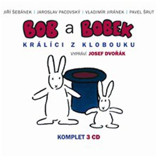 Bob a Bobek - Králíci z létajícího klobouku (komplet) - Pavel Šrut (Audiokniha)