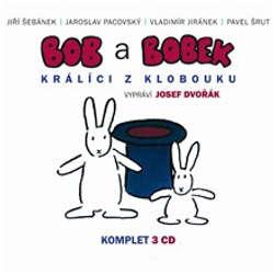 Audiokniha Bob a Bobek - Králíci z létajícího klobouku (komplet) - Pavel Šrut - Josef Dvořák