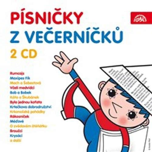 Audiokniha Písničky z večerníčků - Zdeněk Svěrák - Marek Eben