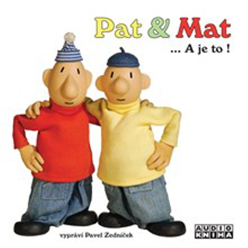 Pat a Mat - Authors Various (Audiokniha)