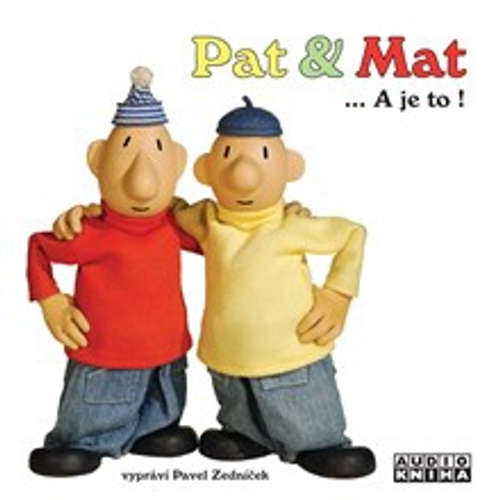 Audiokniha Pat a Mat - Various authors - Pavel Zedníček