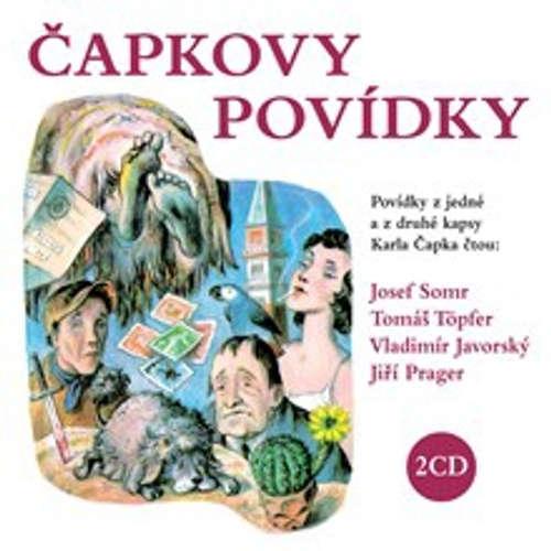 Audiokniha Čapkovy povídky - Karel Čapek - Josef Somr