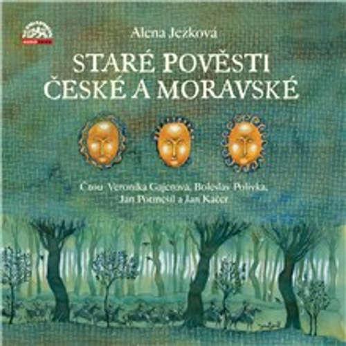 Audiokniha Staré pověsti české a moravské - Alena Ježková - Jan Potměšil