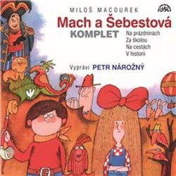 Mach a Šebestová (komplet) - Miloš Macourek (Audiokniha)