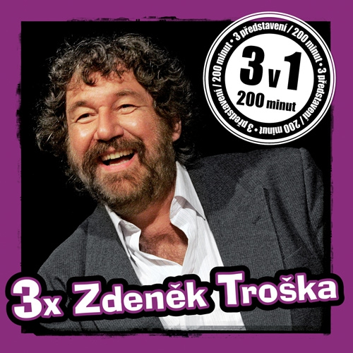 3x Zdeněk Troška - Zdeněk Troška (Audiokniha)