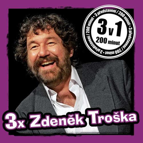 Audiokniha 3x Zdeněk Troška - Zdeněk Troška - Michal Herzán