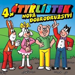 Čtyřlístek - Nová dobrodružství - Ivan Rössler (Audiokniha)