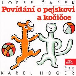 Povídání o pejskovi a kočičce - Josef Čapek (Audiokniha)