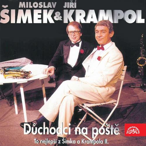 Audiokniha Důchodci na poště - To nejlepší z Šimka a Krampola II. - Miloslav Šimek - Jiří Krampol