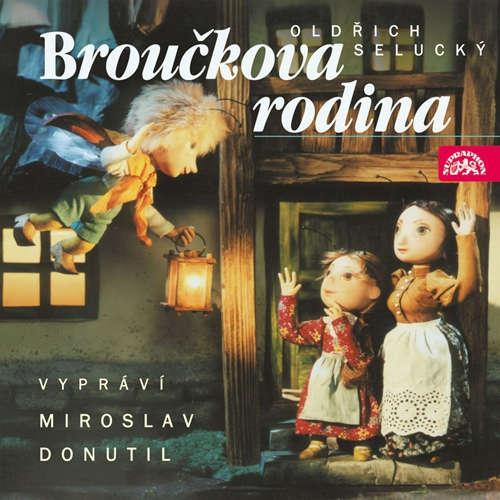 Audiokniha Broučci 3 - Broučkova rodina - Oldřich Selucký - Miroslav Donutil