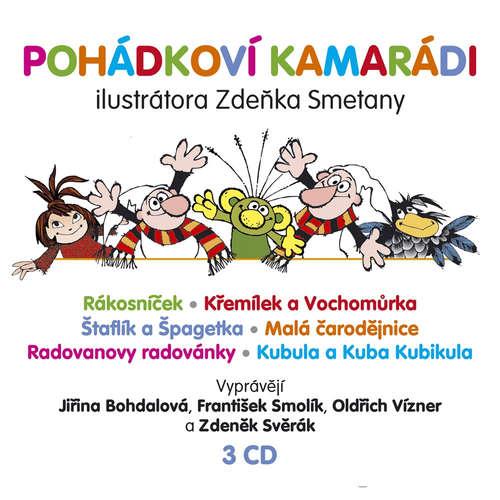 Audiokniha Pohádkoví kamarádi - Zdeněk Svěrák - Oldřich Vízner