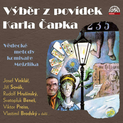 Audiokniha Výběr z povídek Karla Čapka - Karel Čapek - Viktor Preiss