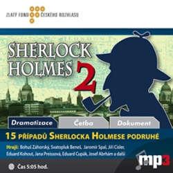 Audiokniha 15 případů Sherlocka Holmese podruhé - Various authors - Svatopluk Beneš