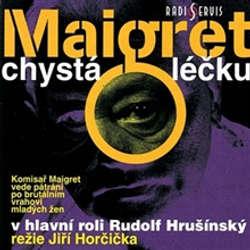 Audiokniha Maigret chystá léčku - Georges Simenon - Rudolf Hrušínský