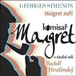 Audiokniha Maigret zuří - Georges Simenon - Rudolf Hrušínský