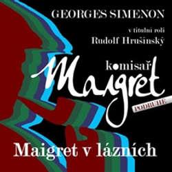 Audiokniha Maigret v lázních - Georges Simenon - Rudolf Hrušínský
