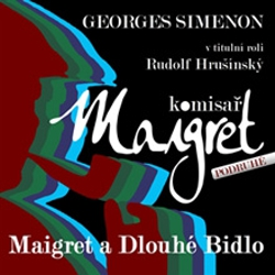 Maigret a Dlouhé Bidlo - Georges Simenon (Audiokniha)