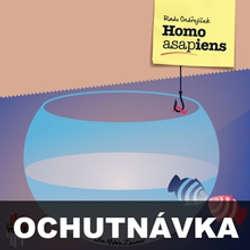 Audiokniha Homo ASAPiens (ochutnávka) - Rado Ondřejíček - Mário Zeumer