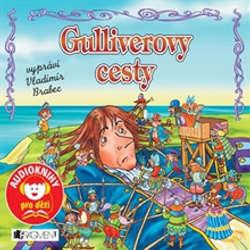 Audiokniha Gulliverovy cesty - Jonathan Swift - Vladimír Brabec