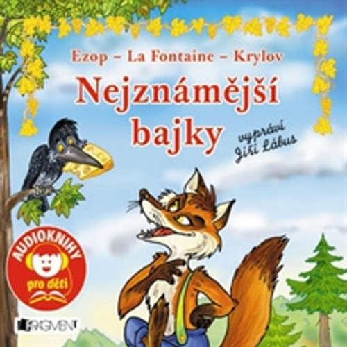 Audiokniha Nejznámější bajky - Jana Eislerová - Jiří Lábus