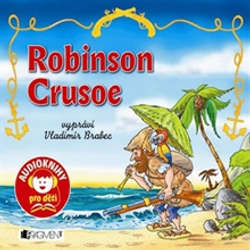 Audiokniha Robinson Crusoe - Daniel Defoe - Vladimír Brabec