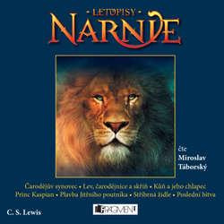 Audiokniha Letopisy Narnie (komplet 1-7) - Clive Staples Lewis - Miroslav Táborský