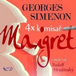 Audiokniha Maigret a mrtvá dívka - Georges Simenon - Rudolf Hrušínský