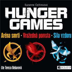 Audiokniha Hunger Games (komplet) - Suzanne Collins - Tereza Bebarová