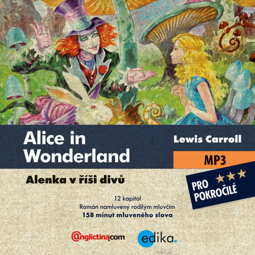 Audiobook Alice in Wonderland (EN) - Lewis Carroll - Michelle Smithová