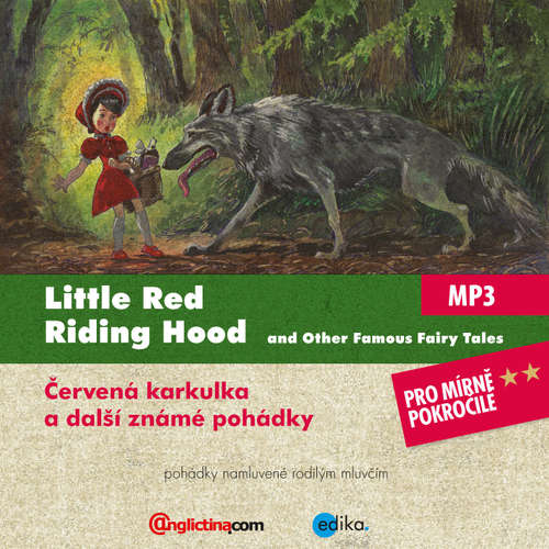 Audiobook Little Red Riding Hood and Other Famous Fairy Tales (EN) - Různí autoři - John Deane