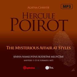 Audiobook Hercule Poirot The Mysterious Affair at Styles (EN) - Agatha Christie - Sabra Aslam