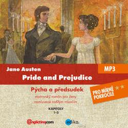 Audiobook Pride and Prejudice (EN) - Jane Austenová - Diego Alava