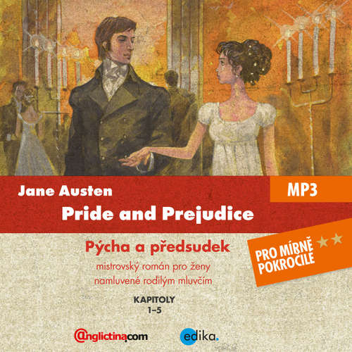 Audiobook Pride and Prejudice (EN) - Jane Austenová - Diego Alava