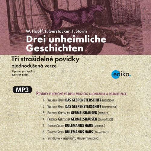 Hoerbuch Drei unheimliche Geschichten (DE) - Wilhelm Hauff - Birgit Gunsenheimerová