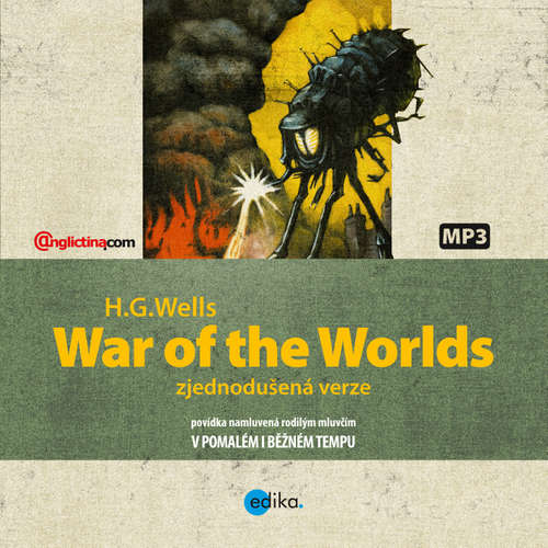 Audiobook War of the Worlds (EN) - Herbert George Wells - Karl Prater