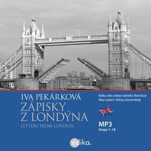 Letters from London (EN) - Iva Pekárková (Audiobook)