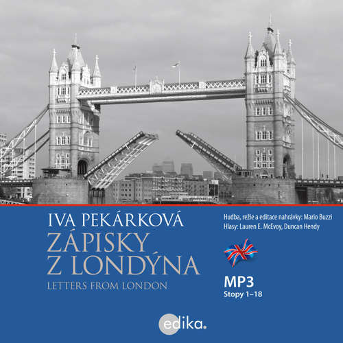 Audiobook Letters from London (EN) - Iva Pekárková - Duncan Hendy