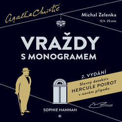 Audiokniha Vraždy s monogramem - Sophie Hannah - Michal Zelenka