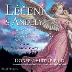 Audiokniha Léčení s anděly - Doreen Virtue - Naďa Konvalinková