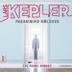 Paganiniho smlouva - Lars Kepler (Audiokniha)