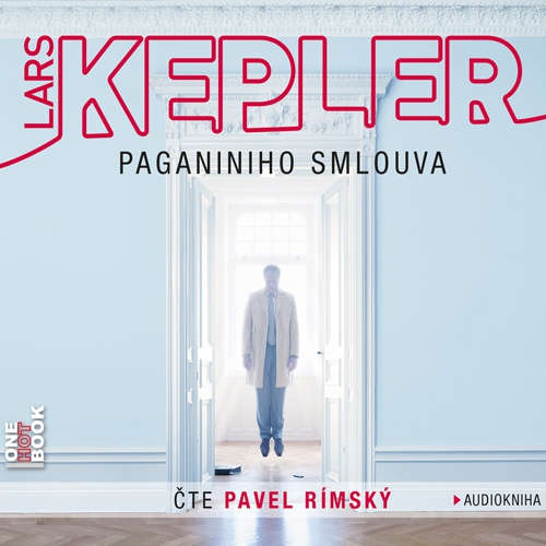Audiokniha Paganiniho smlouva - Lars Kepler - Pavel Rímský